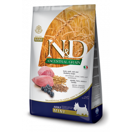 N&D Ancestral Grain Kuzu & Yaban Mersini Adult Mini 2.5 KG