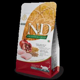 N&D Ancestral Grain Tavuk & Nar Adult Kedi Maması 1.5 KG