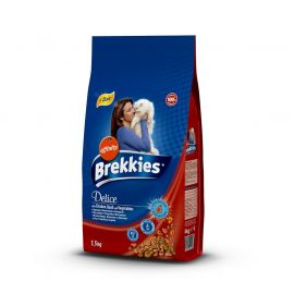 BREKKIES EXCEL CAT DELİCE MEAT 1.5 KG