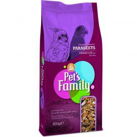 PETS FAMILY PARAKET YEMİ 800G