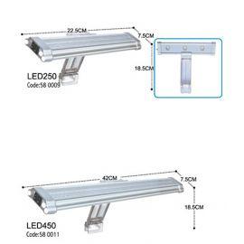 DOPHIN LED LAMBA 455  45X7CM