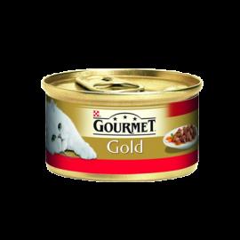 Gourmet Gold Parça Sığır Etli Soslu Kedi Konservesi 85 gr