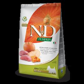 N&D Tahılsız Pumpkin Yaban Domuzu & Elma Mini Köpek Maması 2.5KG