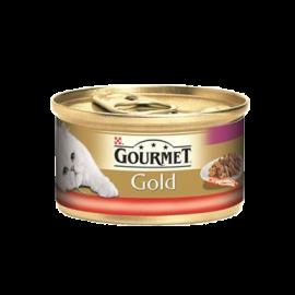 Gourmet Gold Sığır Etli Tavuklu Kedi konservesi 85 gr